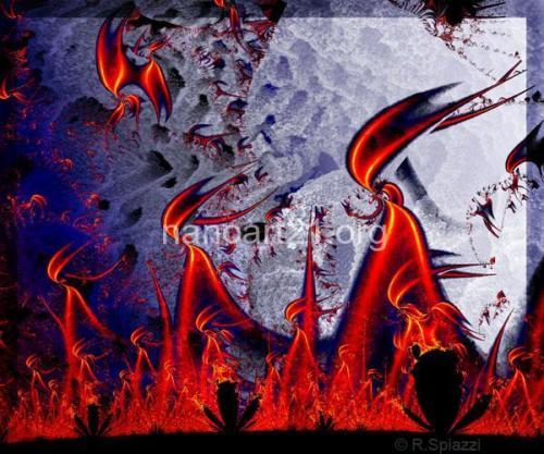 Renata Spiazzi-Fire in the Cave